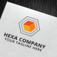 Hexa Company Logo Template - GraphicRiver Item for Sale
