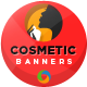 Cosmetic & Makeup Banners - GraphicRiver Item for Sale