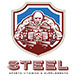 Steel Sports Supplements and Vitamins Logo - GraphicRiver Item for Sale