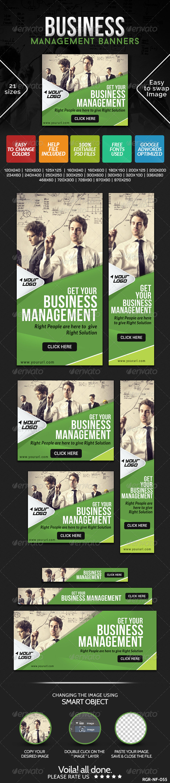GraphicRiver Business Banners 8543791