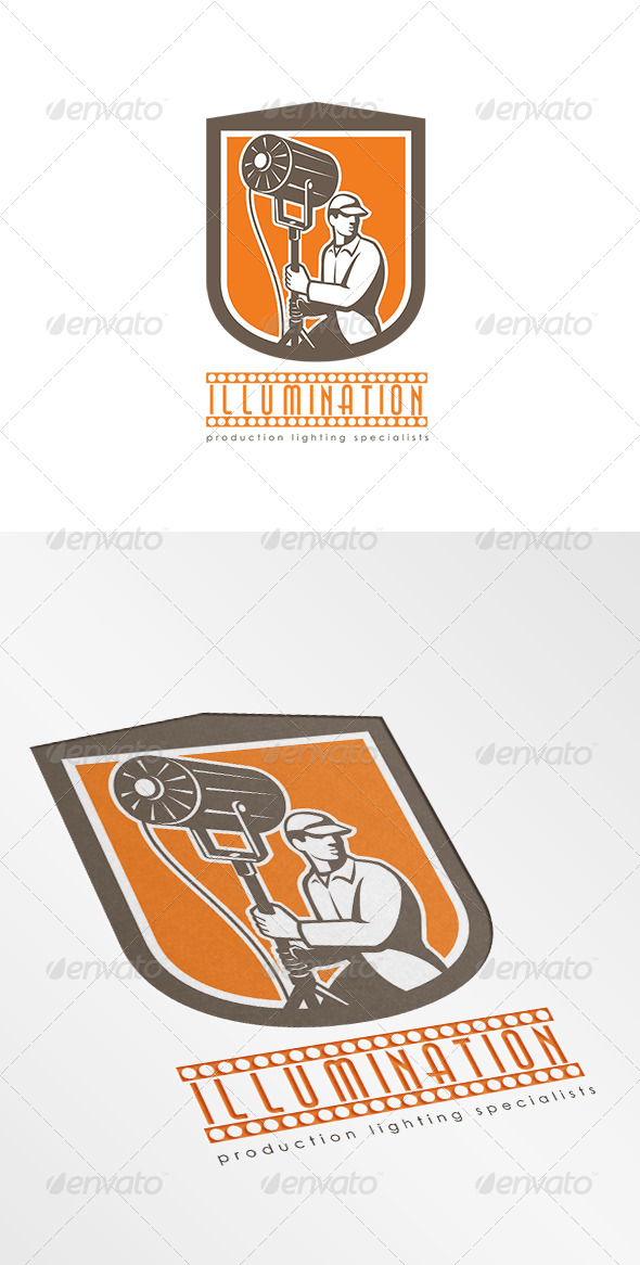 GraphicRiver Illumination Production Lighting Logo 8543805