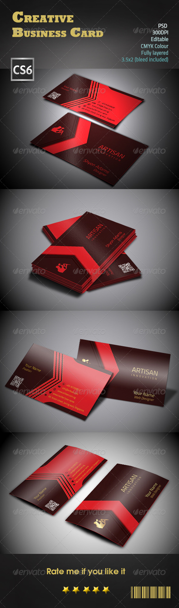 GraphicRiver Creative Business Card 8544071