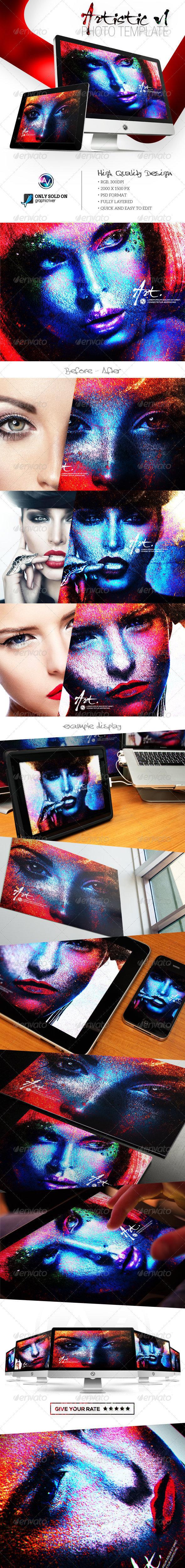 Artistic Photo Template V1 - Artistic Photo Templates