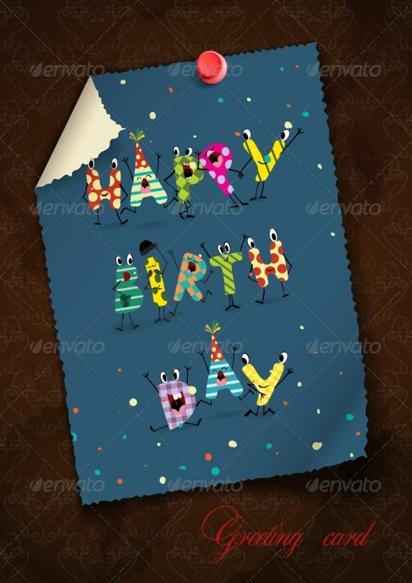 GraphicRiver Greeting Card Design Template 8544153