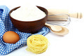 Supplies and ingredients for baking or making pasta. - PhotoDune Item for Sale