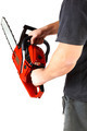 Man with gasoline chain saw in hand. - PhotoDune Item for Sale
