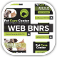 Care Pets Docs Veterinary  Web Banner - GraphicRiver Item for Sale