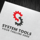 System Tools Logo Template - GraphicRiver Item for Sale