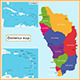 Dominica Map - GraphicRiver Item for Sale