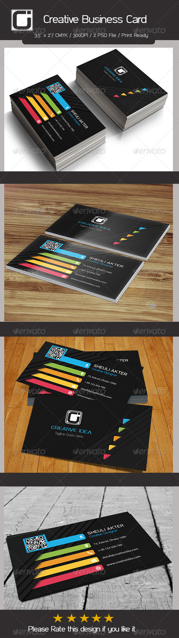 GraphicRiver Creative Business Card 8512051