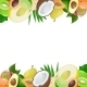 Two Borders made of Delicious Ripe Fruit - GraphicRiver Item for Sale