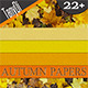 Autumn Colorful Seamless Papers - GraphicRiver Item for Sale