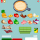Set of Products for Cooking and Set Bars and Buttons - GraphicRiver Item for Sale