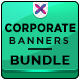 Corporate Banners Bundle - 3 Sets - GraphicRiver Item for Sale