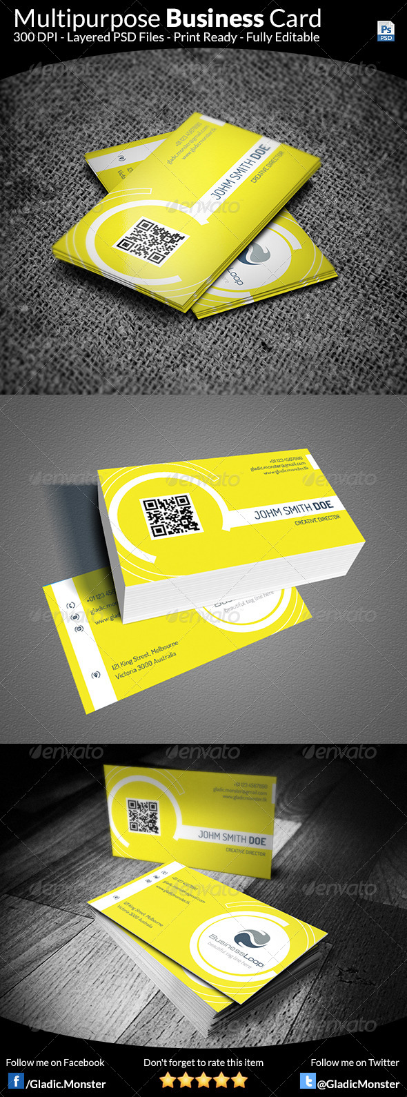 GraphicRiver Creative Business Card 8544646