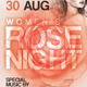 Women's Rose Night Flyer