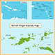 British Virgin Islands map - GraphicRiver Item for Sale