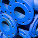 Blue iron pipes as background  - PhotoDune Item for Sale