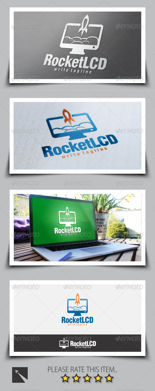 GraphicRiver Rocket Desktop Logo Template 8545281