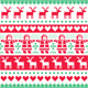 Red and Green Christmas Pattern - GraphicRiver Item for Sale