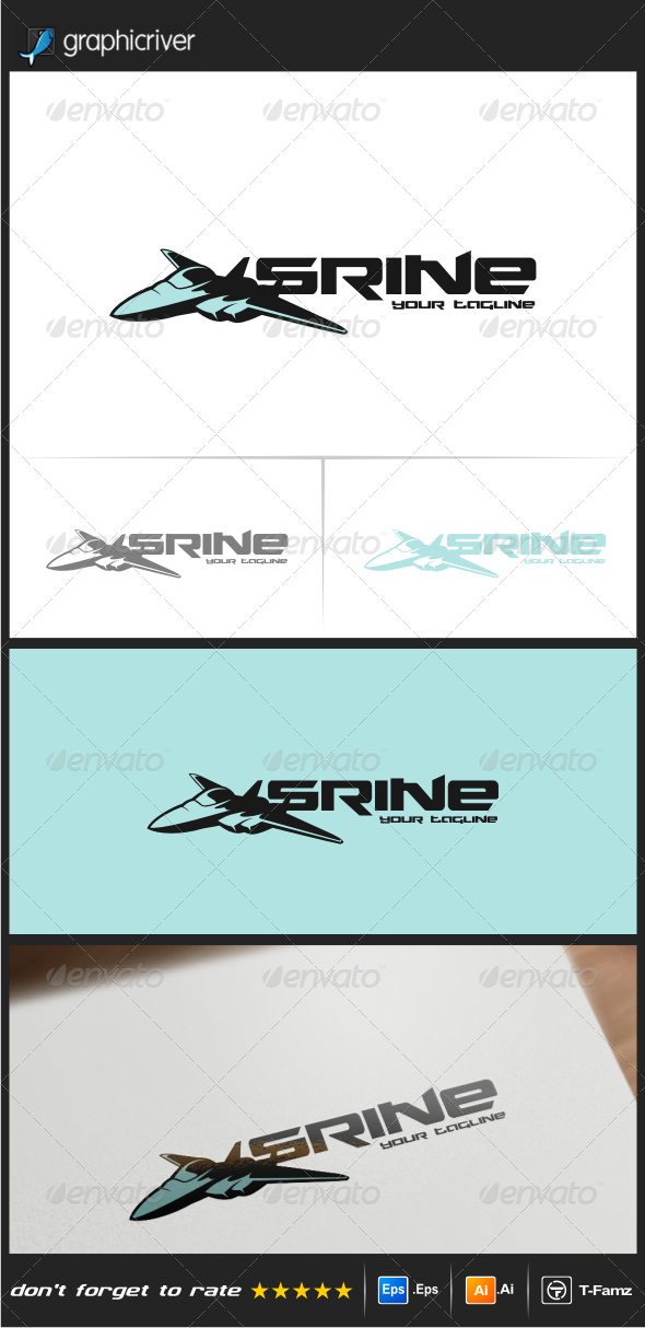 GraphicRiver Jets Logo Templates 8545327