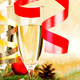 Champagne and christmas decor - PhotoDune Item for Sale