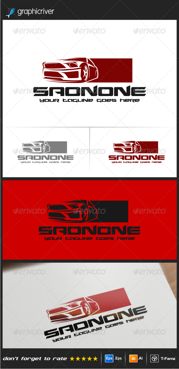 GraphicRiver Sport Car Logo Templates 8545379