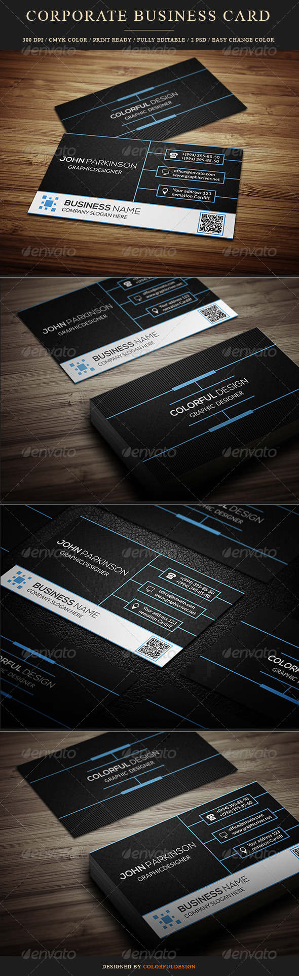 GraphicRiver Corporate Business Card 8545449