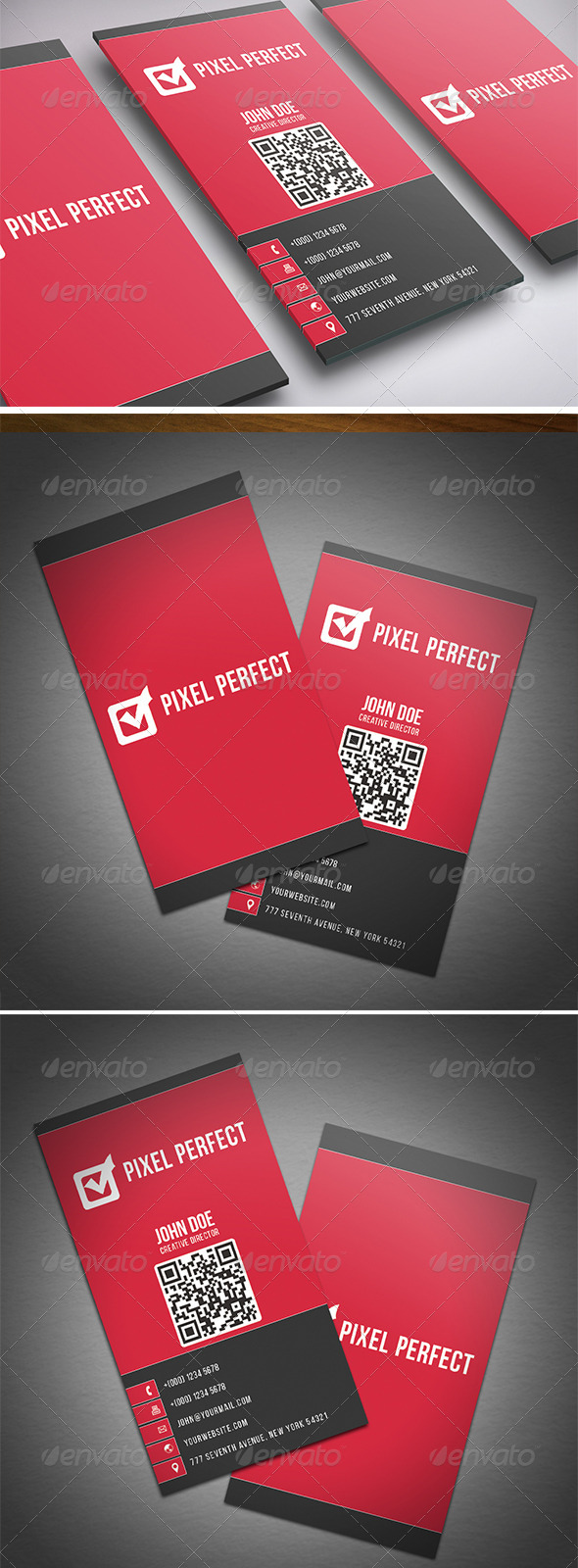 GraphicRiver Corporate Double Sided Business Card 8542835