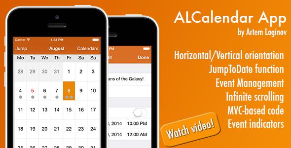 CodeCanyon ALCalendar App 8516800