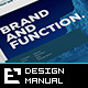 Corporate Design Manual Guide - 24 Pages - GraphicRiver Item for Sale