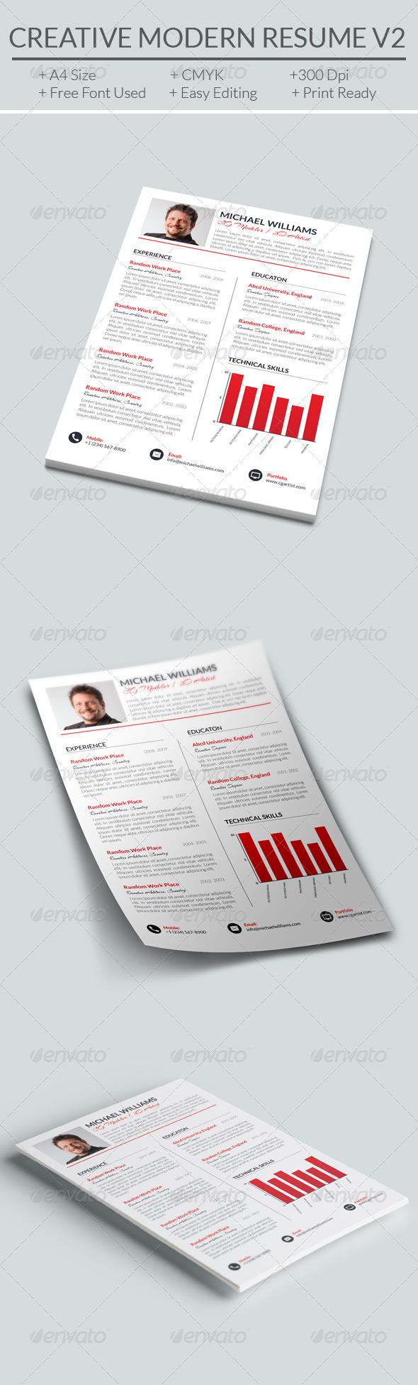 Creative Modern Resume V2