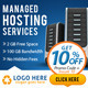 Corporate Web Hosting Banners - GraphicRiver Item for Sale