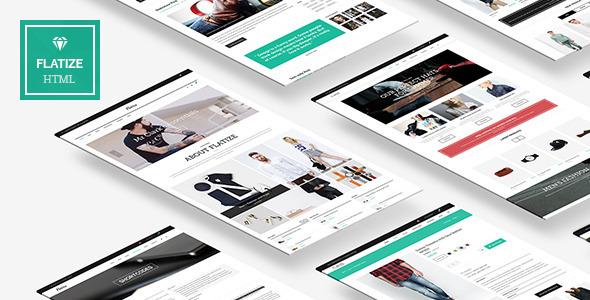 Flatize - Fashion eCommerce HTML Template - Fashion Retail