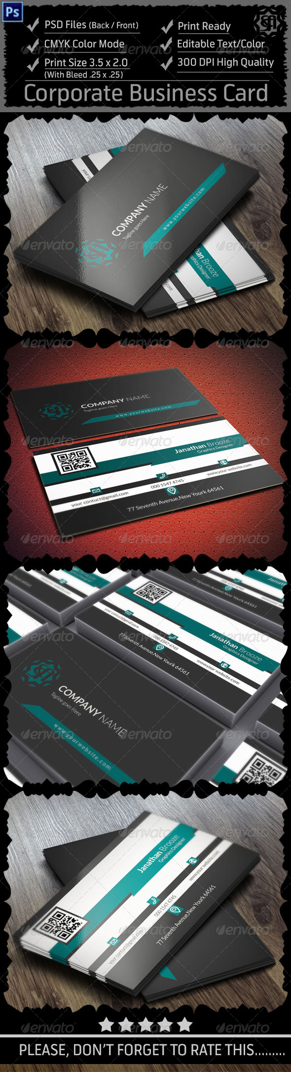 GraphicRiver Corporate Business Card Vol 10 8546517