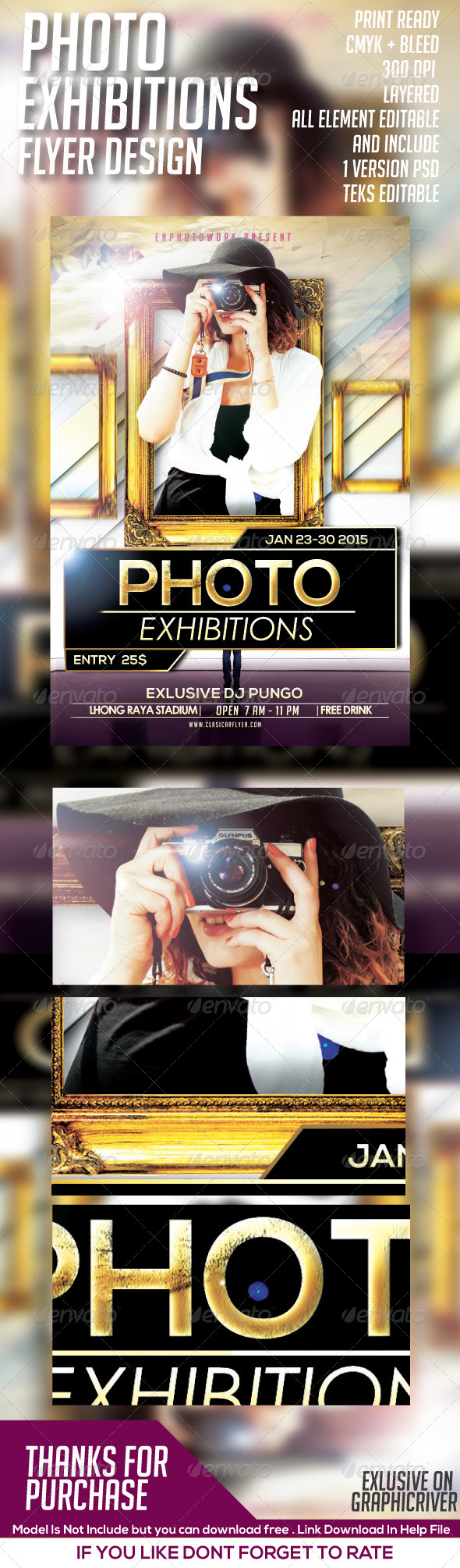 GraphicRiver Photo Show Case Event Flyer 8546736