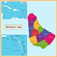 Barbados Map - GraphicRiver Item for Sale