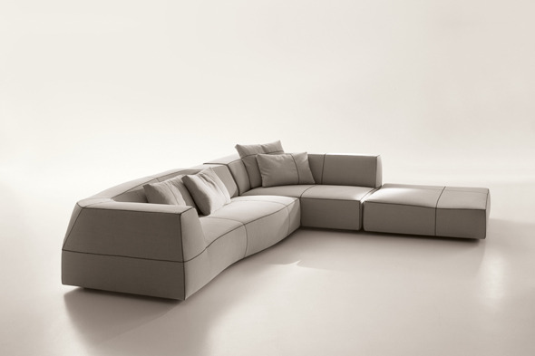 Bend Sofa - 3DOcean Item for Sale