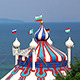Circus Tent Near The Sea - VideoHive Item for Sale