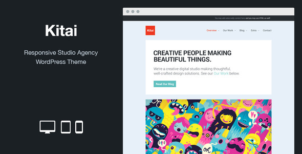 ThemeForest Kitai Responsive Studio Agency WordPress Theme 8518373