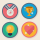 Gamification Icon Pack - GraphicRiver Item for Sale
