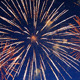 Fireworks Show In The Night - VideoHive Item for Sale