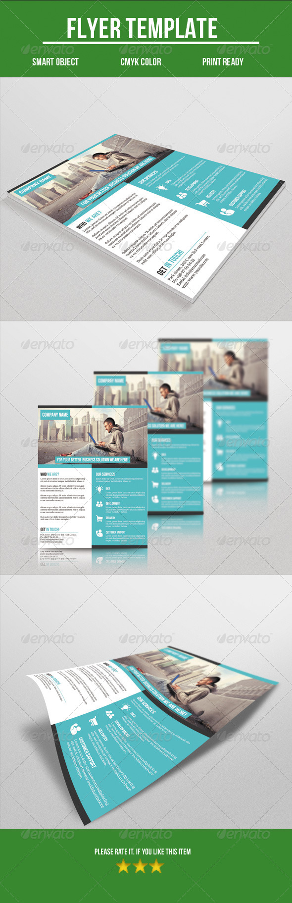 GraphicRiver Corporate Flyer 8548397