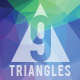 9 Triangles Background - GraphicRiver Item for Sale