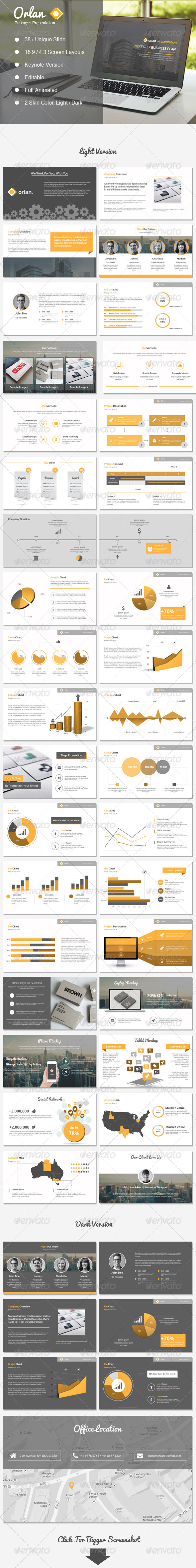 GraphicRiver Orlan Keynote Business Presentation 8545775