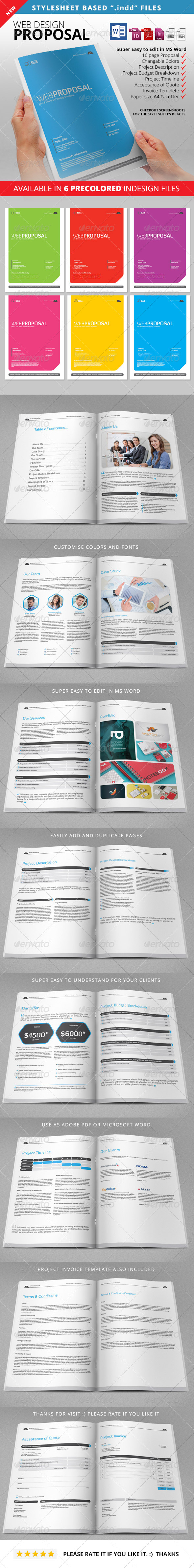 GraphicRiver Proposal Web Proposal 8548734