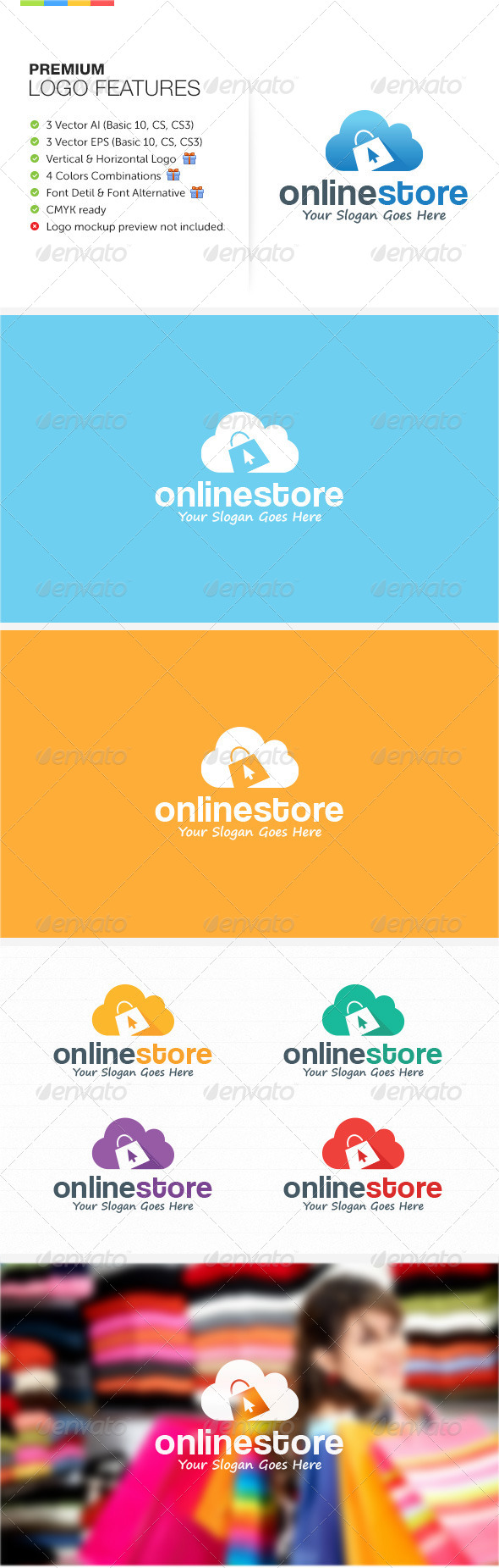 GraphicRiver Online Store Logo 8546566