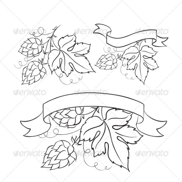 GraphicRiver Beer Emblems 8549399