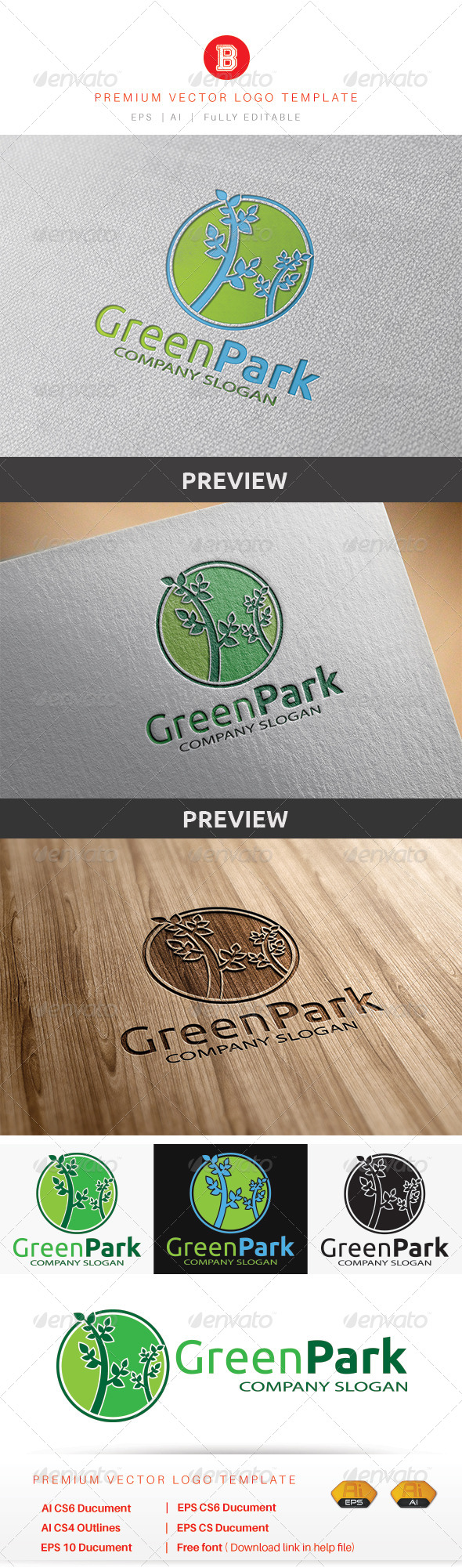 GraphicRiver Green Park 8549777