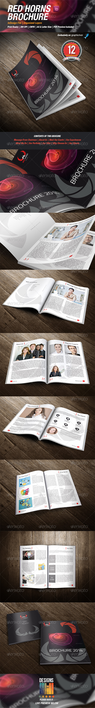 GraphicRiver RedHorns Multipurpose Brochure 8549781
